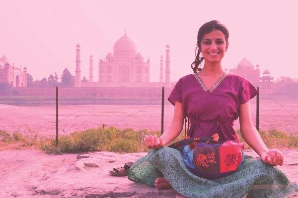 As cores, a arte e a espiritualidade da Índia