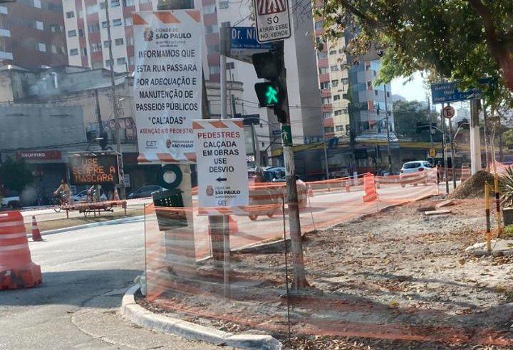 Requalificação das calçadas