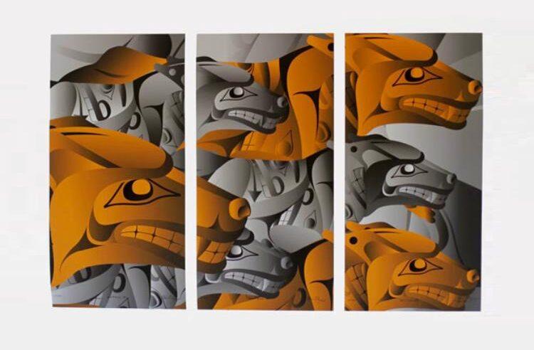 Obras de artistas indígenas de povos das Américas no Sesc VM